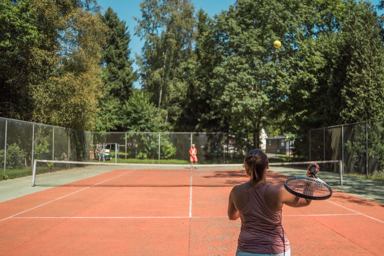 All weather Tennisplatz
